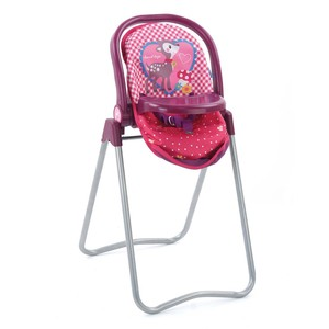 3 in 1 High Chair Swing - Doll High Chair and Swing